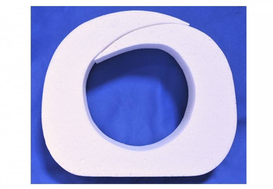"MPR Low Profile 6 1/2"" Single Use Insert White (10230)"